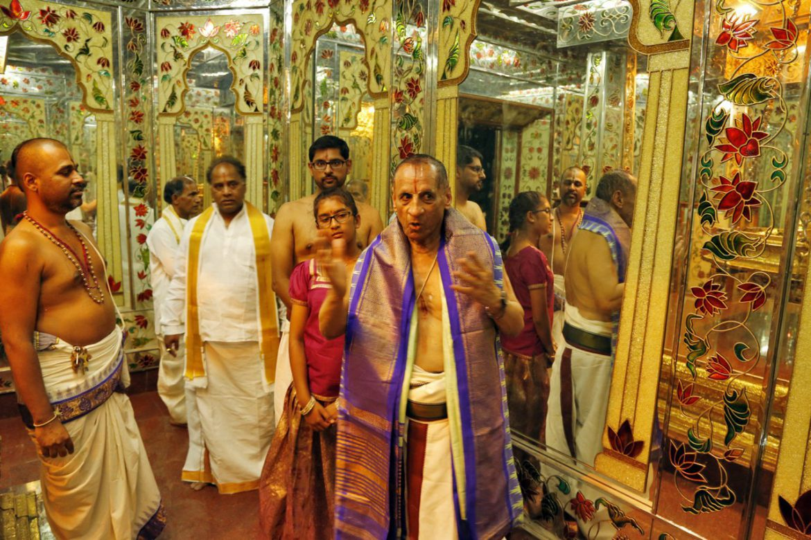 Governor in Tirumala