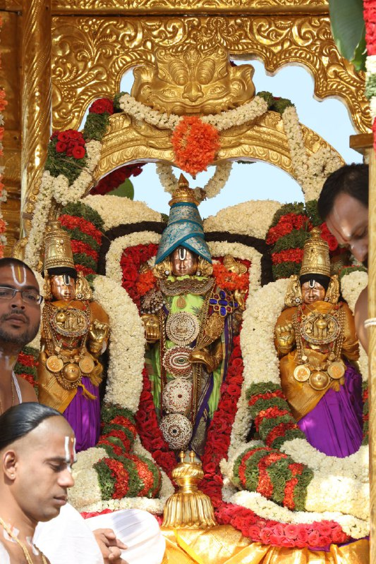 Golden Chariot Tirumala