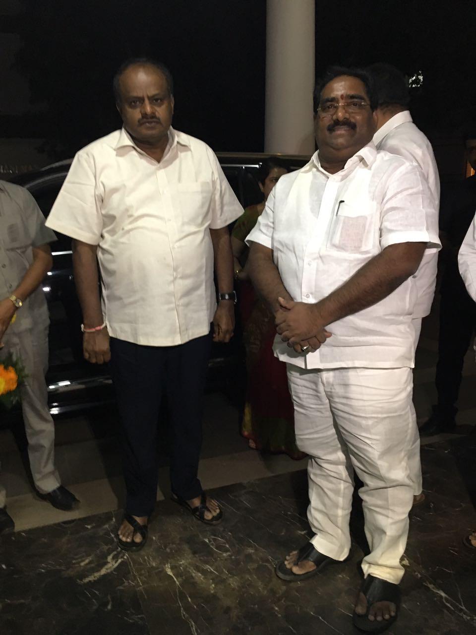 H D KumaraSwamy Tirumala