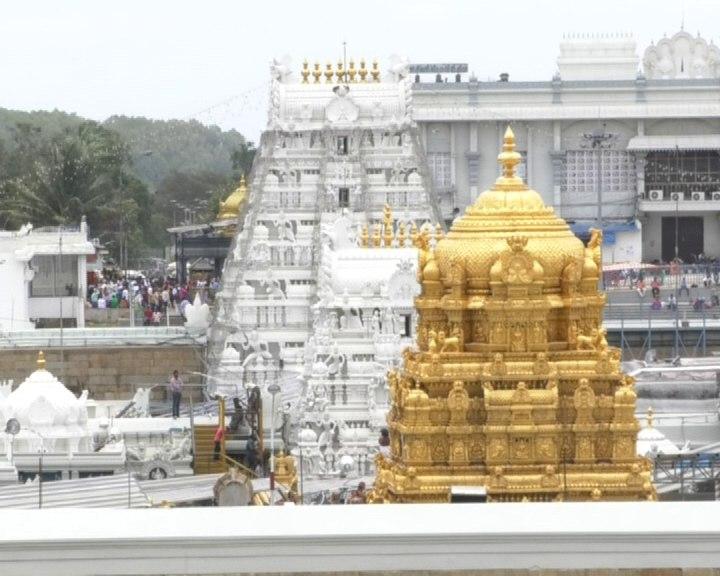 Metal Ladder Tirumala temple