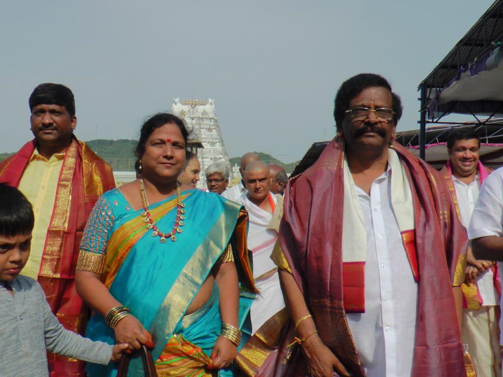 Forest minister Raghava Rao