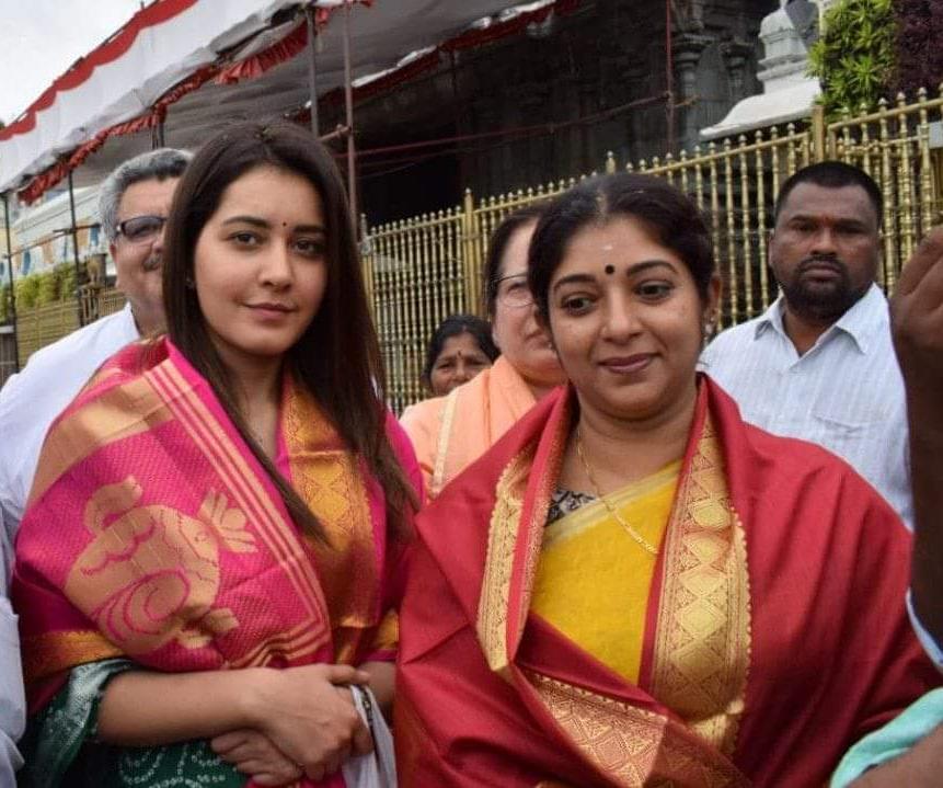 Raashi Khanna tirumala
