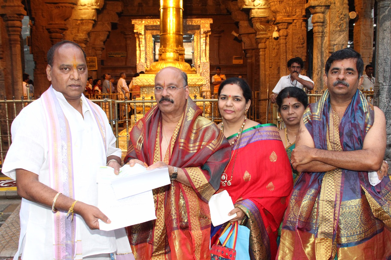 TTD 2 Crores donation